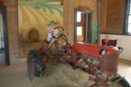 Julien le farmer!