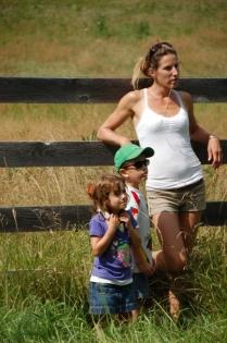 Cowboys en route pour la ferme