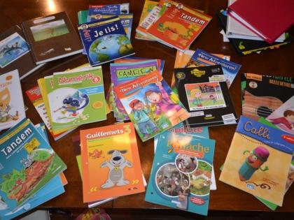 Nos cahiers scolaires 1er à 4e année