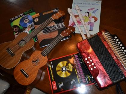 Nos instruments à bord