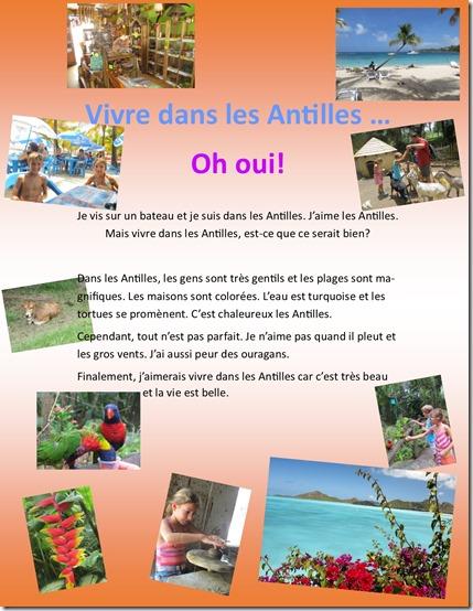 Vivre dans les Antilles Lea