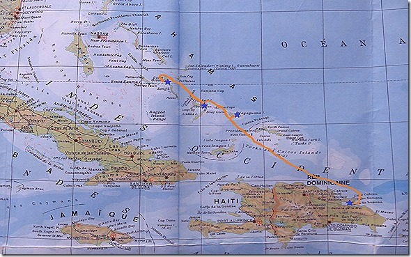 Carte Far Bahamas
